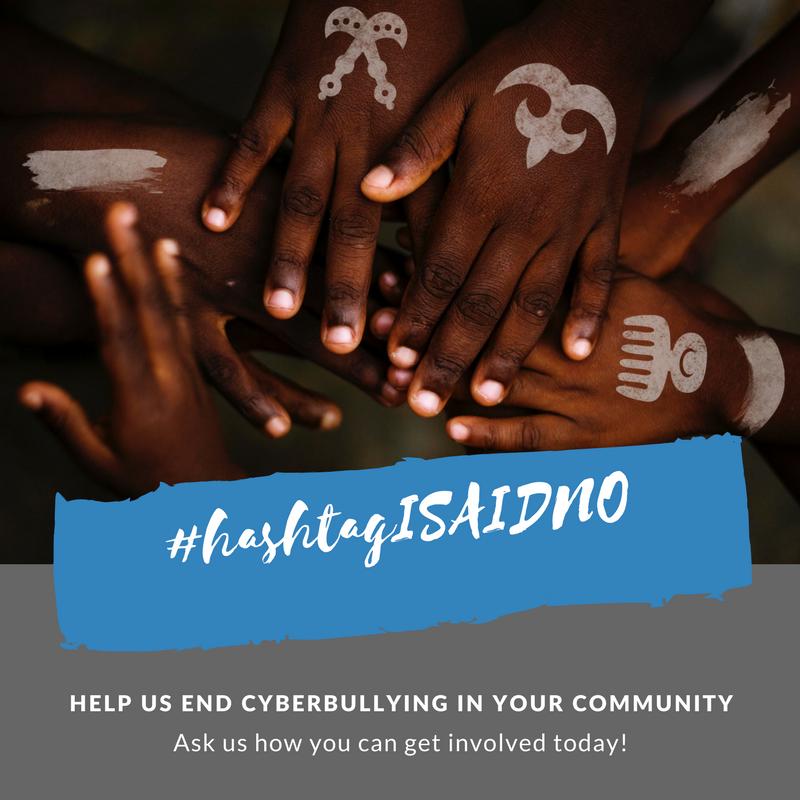 #hashtagISAIDNO Social Graphic