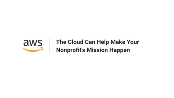 AWS Cloud Nonprofit Credits