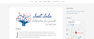Just Jala Website