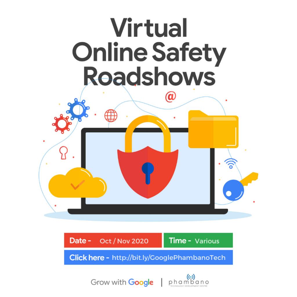 PhambanoTech Google Virtual Online Safety Roadshow
