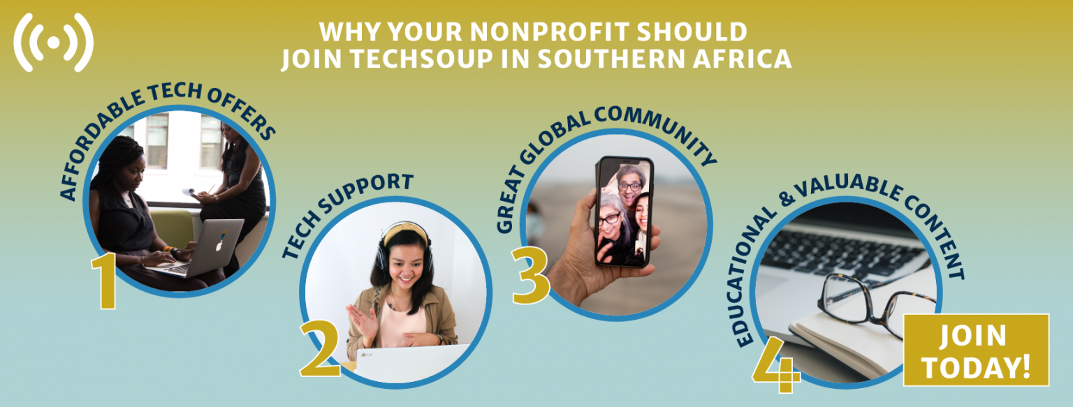 Join TechSoup Southern Africa Today
